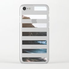 ocean falaise Clear iPhone Case