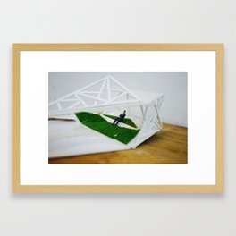 Nature and the human environment Framed Art Print