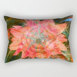 Pink Buddha Rectangular Pillow