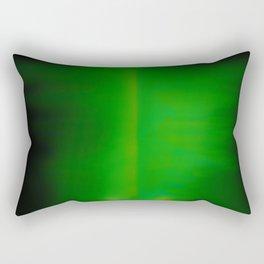 Green Goo Smear Rectangular Pillow