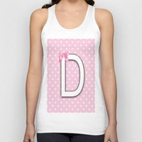 nursery Tank Tops featuring Alphabet Baby Nursery Pastels Colors by Ann Mary Consul Designs, Llc