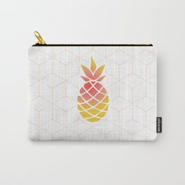 Pineapple Geometric Art Carry-All Pouch