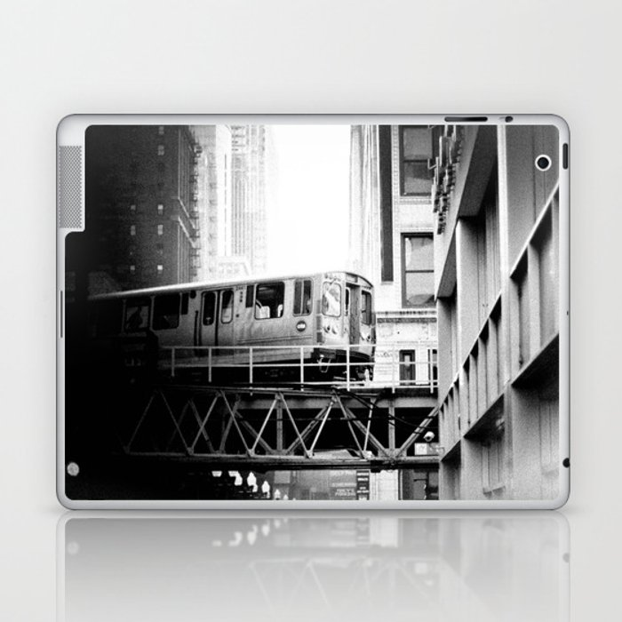 Chicago Skyway Laptop & iPad Skin by carmenmorenophotos