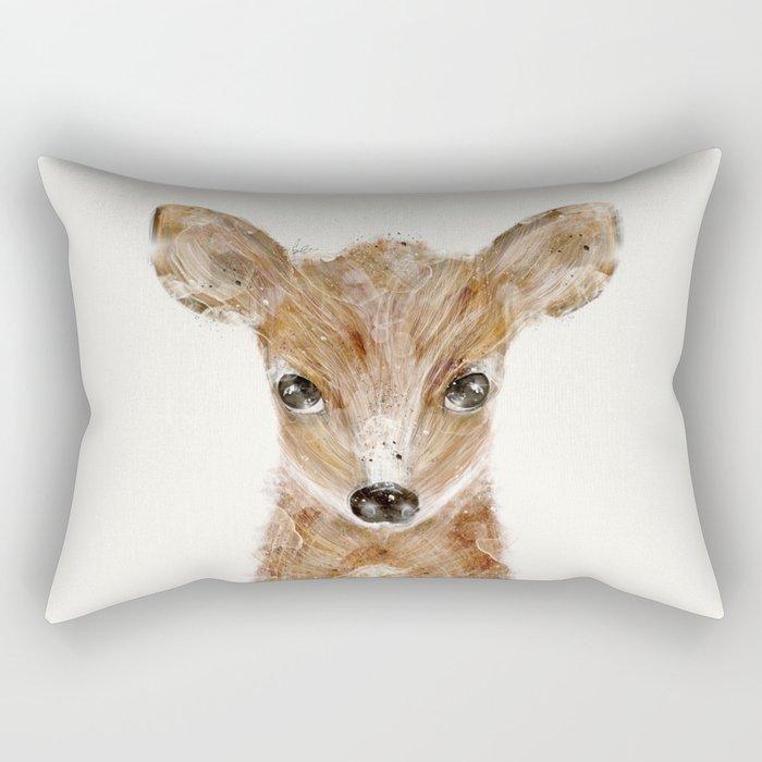 little deer fawn Rectangular Pillow