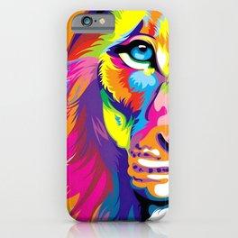 LION-FACE-ART iPhone Case
