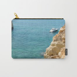A small inlet suitable for swimming Carry-All Pouch