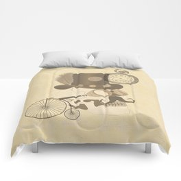 Steam Punked Comforters