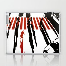 La malette rouge Laptop & iPad Skin