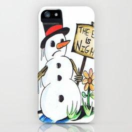 optimist  iPhone Case