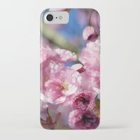 cherry blossoms iPhone & iPod Cases featuring Cherry Blossoms by Joke Vermeer