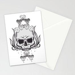 skull+ Stationery Cards