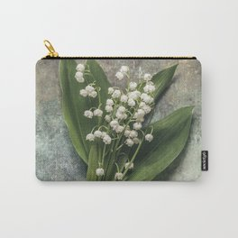 Beautiful Lily Of The Valley Carry-All Pouch