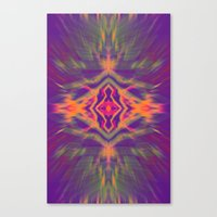 psychedelic Canvas Prints featuring Psychedelic by chey691