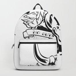 No guts, no glory Backpack
