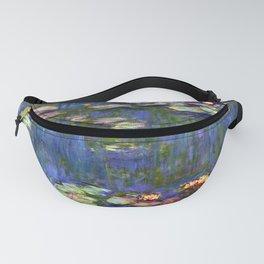 Claude Monet Water Lilies III Fanny Pack