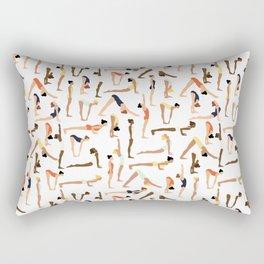 Yoga Ladies Rectangular Pillow