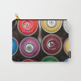 SPRAY CANS 3 Carry-All Pouch