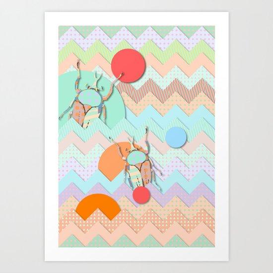 Insect VI Art Print