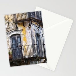 Urban Sicilian Facade Stationery Cards