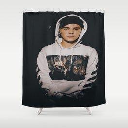 JustinBieber Portrait Shower Curtain