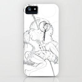 Cosmic Shaman iPhone Case