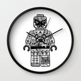 leggo man #1 Wall Clock