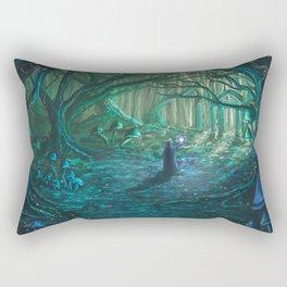 Old One Returning Rectangular Pillow