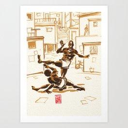 Capoeira 338 Art Print