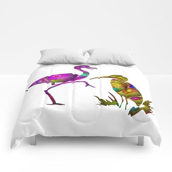 exotic birds Comforters