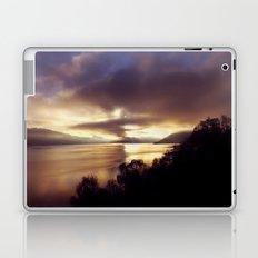 Loch Ness Sunset Laptop & iPad Skin