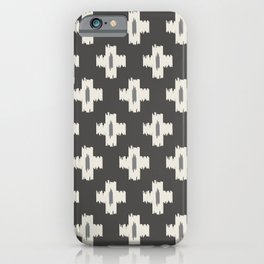Ikat Safari Square iPhone Case