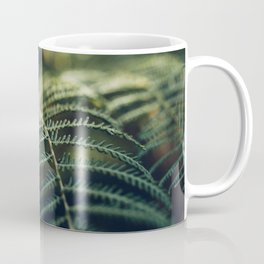 Green and Golden Coffee Mug
