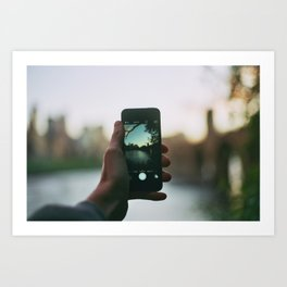 Use A Real Camera Art Print