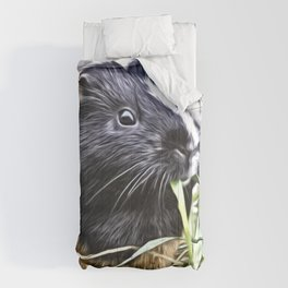 Painted Guinea Pig 3 Comforters
