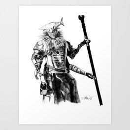 Variks the Loyal Art Print