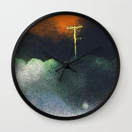 The Dust that Never Settles Wall Clock