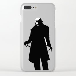 Dracula | Bela lugosi | Famous Monsters | Gothic Art Clear iPhone Case