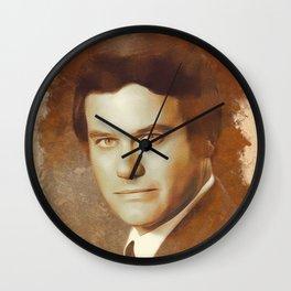 Larry Hagman, Acting Legend Wall Clock