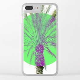 Pastel Paradise Clear iPhone Case