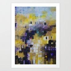 urban landscape 9 Art Print