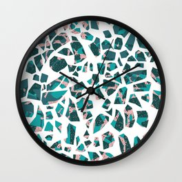 Grace Terrazzo Wall Clock