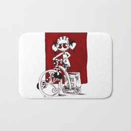 I Like to Ride My Tricycle Bath Mat