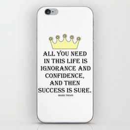 All you need in life... iPhone Skin
