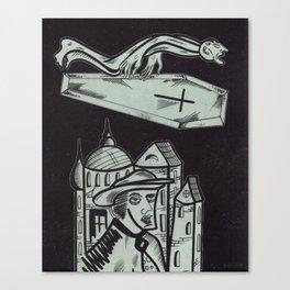 Coffin Canvas Print