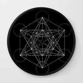 Sacred Geometry Print 4 Wall Clock