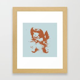 This Orangutan is Aping Out Framed Art Print