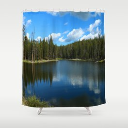 Tranquil Morning At Gull Point Drive Shower Curtain
