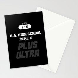U.A. High School Print Stationery Cards