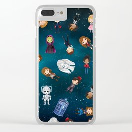 Whovian Love Clear iPhone Case