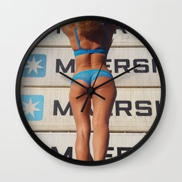 The Shipping Giant Wall Clock